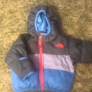 Reversible Baby North Face puffer Jacket